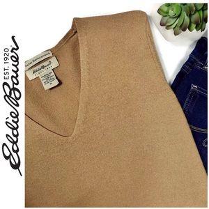 Vintage Eddie Bauer Italian Merino Wool Sweater